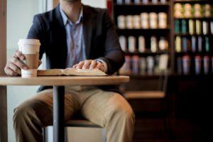 Styropor koffiebeker